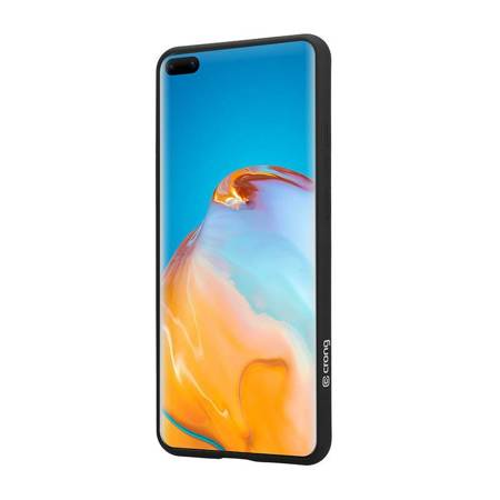 Crong Color Cover - Etui Huawei P40 Pro (czarny)