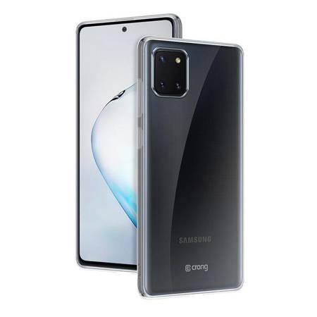 Crong Crystal Slim Cover - Etui Samsung Galaxy Note 10 Lite (przezroczysty)