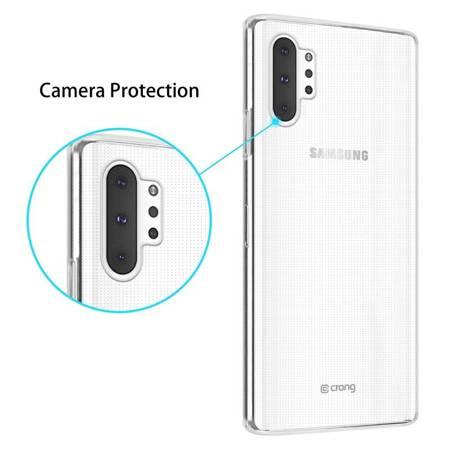 Crong Crystal Slim Cover - Etui Samsung Galaxy Note 10+ (przezroczysty)