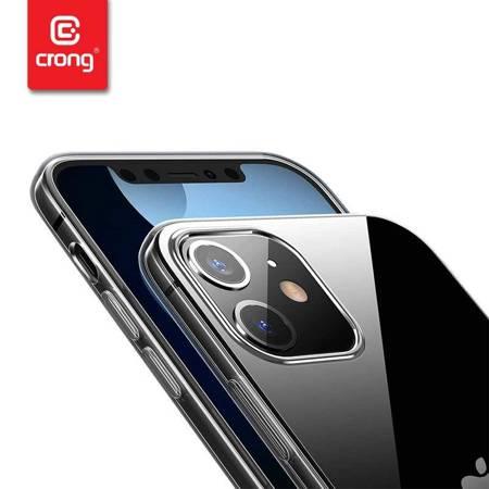 Crong Crystal Slim Cover - Etui iPhone 12 Pro Max (przezroczysty)