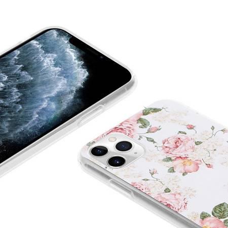 Crong Flower Case – Etui iPhone 11 Pro (wzór 02)