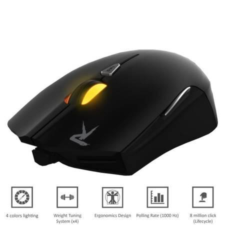 Gamdias Ourea FPS - Mysz optyczna (4000 DPI)