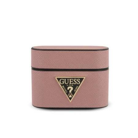 Guess GUACAPVSATMLPI AirPods Pro cover różowy/pink Saffiano