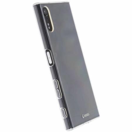 Krusell Bovik Cover - Etui Sony Xperia XZs (przezroczysty)