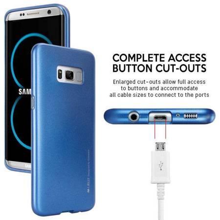 Mercury I-Jelly - Etui Samsung Galaxy S8+ (niebieski)
