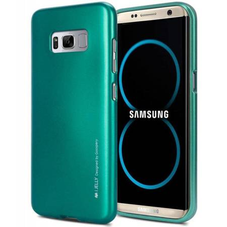 Mercury I-Jelly - Etui Samsung Galaxy S8+ (zielony)