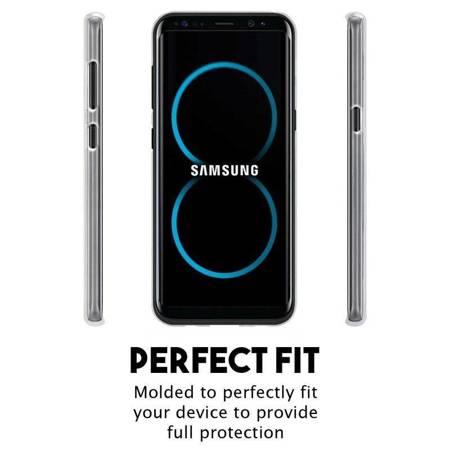 Mercury Transparent Jelly - Etui Samsung Galaxy S8+ (przezroczysty)