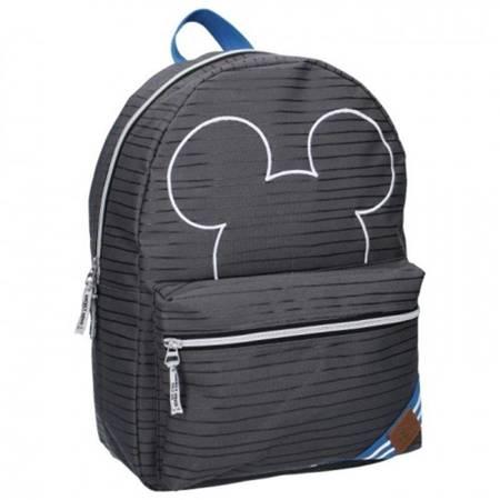 Mickey Mouse - Plecak szkolny (szary)