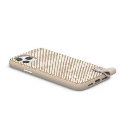 Moshi Altra - Etui z odpinaną smyczką iPhone 12 / iPhone 12 Pro (system SnapTo) (Sahara Beige)
