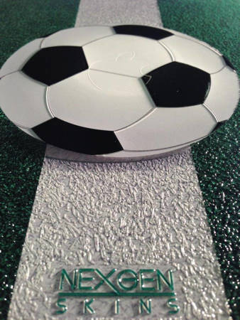 Nexgen Skins - Zestaw skórek na obudowę z efektem 3D Samsung GALAXY S III (Soccer Field 3D)