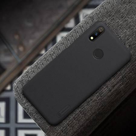 Nillkin Super Frosted Shield - Etui Realme 3 Pro (Realme X Lite) (Black)
