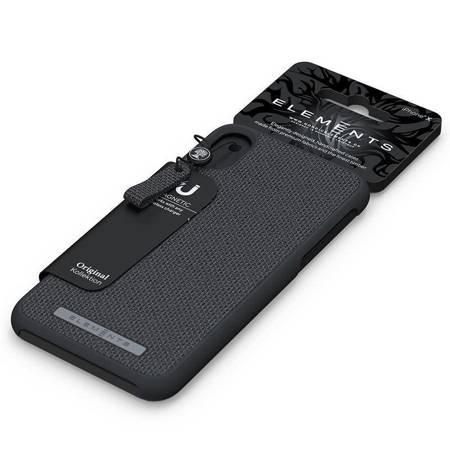 Nordic Elements Original Idun - Materiałowe etui iPhone Xs Max (Dark Grey)