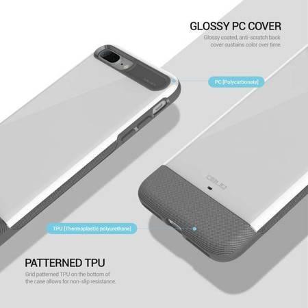 Obliq Dual Meta - Etui iPhone 7 Plus (White)