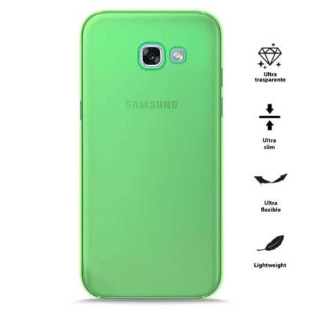 PURO 0.3 Nude - Etui Samsung Galaxy A3 (2017) (Fluo Green)
