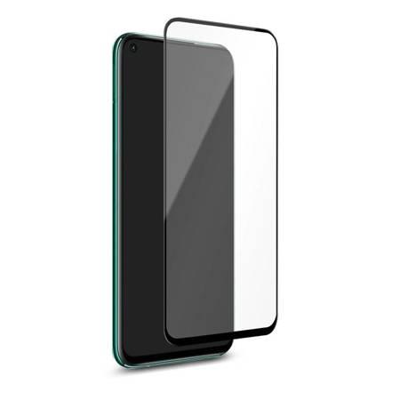 PURO Frame Tempered Glass - Szkło ochronne hartowane na ekran Huawei P40 Lite (czarna ramka)