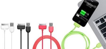 PURO Kabel połączeniowy USB Apple (biały)