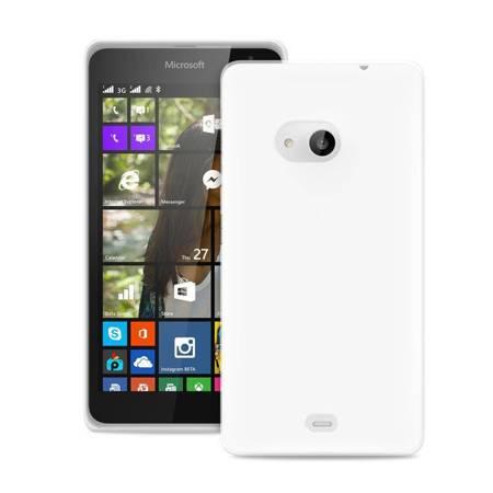 PURO Ultra Slim 0.3 Cover - Etui Microsoft Lumia 535 (półprzezroczysty)