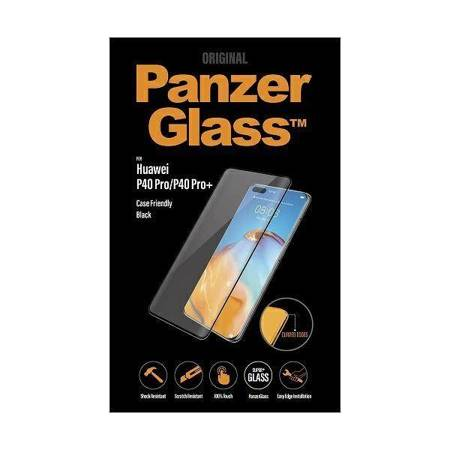 PanzerGlass Curved Super+ Huawei P40 Pro /P40 Pro Plus Case Friendly Finger Print czarny/black
