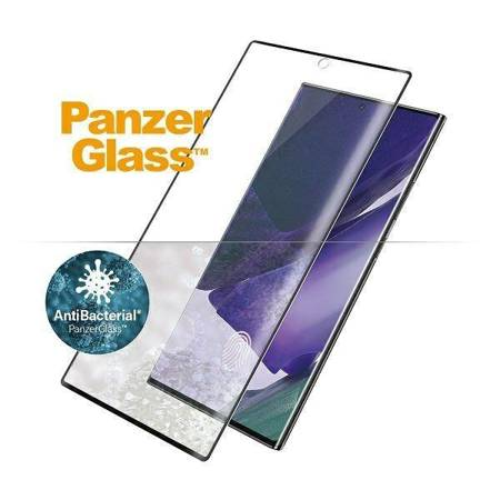 PanzerGlass Curved Super+ Samsung Note 20 Ultra N985 Case Friendly Finger Print AntiBacterial czarny/black