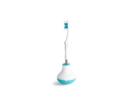 Quirky Bobble Brush - Timer do mycia zębów z uchwytem (niebieski)