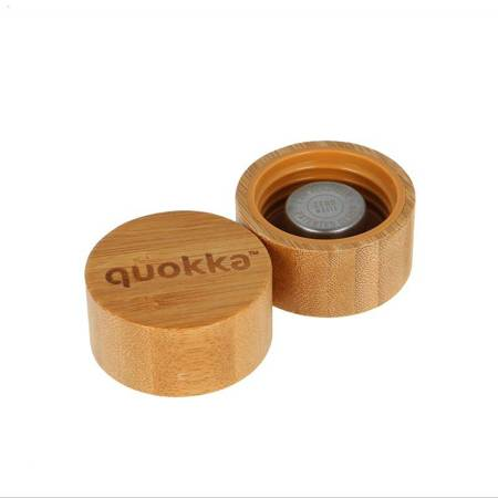 Quokka Flow -  Butelka na wodę ze szkła 660 ml (Inner Water Flowers)