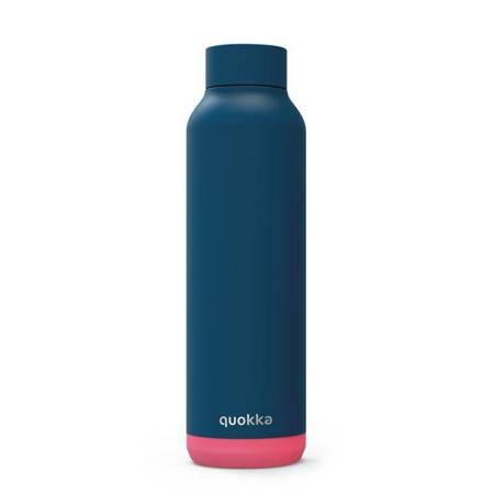 Quokka Solid - Butelka termiczna ze stali nierdzewnej 630 ml (Pink Vibe)