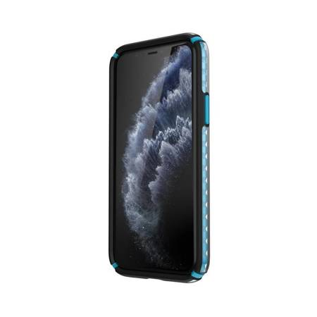 Speck Presidio2 Armor Cloud - Etui iPhone 11 Pro z powłoką MICROBAN (Black Fade/Black/Blue)