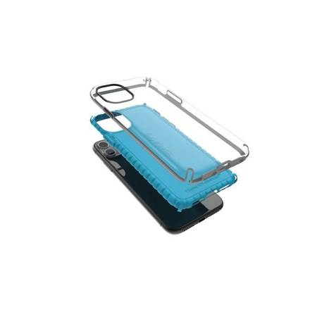 Speck Presidio2 Pro - Etui iPhone 11 Pro Max z powłoką MICROBAN (Coastal Blue/Black/Storm Grey)
