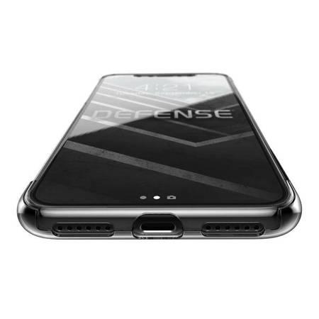 X-Doria Defense 360 - Etui iPhone Xs / X ze szkłem 9H na ekran (przezroczysty)